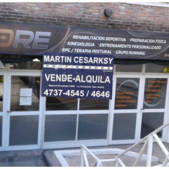 Amplio Local en San isidro.