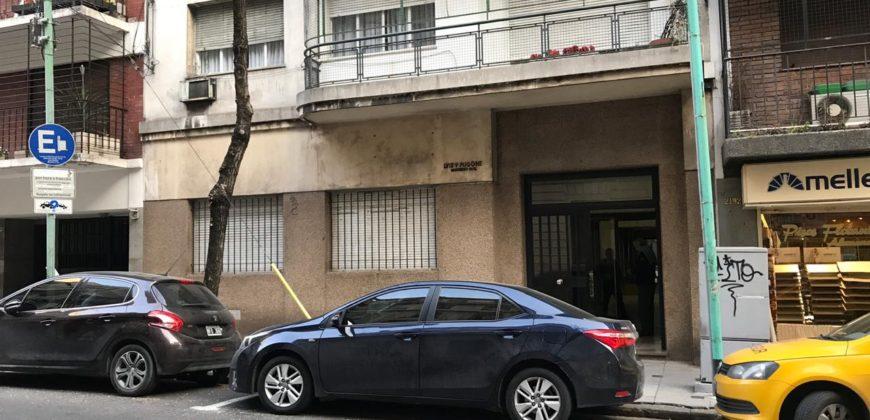 RETASADO !!DEPARTAMENTO 3/4 AMBIENTES EN PB CON PATIO Arenales 2100 – Barrio Norte – CABA