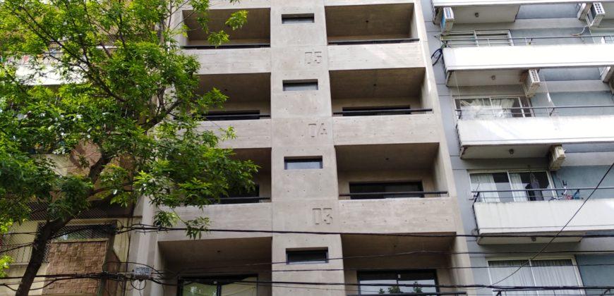 OPORTUNIDAD!! A ESTRENAR DEPARTAMENTO DE 1 AMBIENTE DE 34m2 CON BALCON A LA CALLE